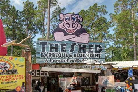 The Shed Barbeque Blues Joint Springs Ms by Entrance