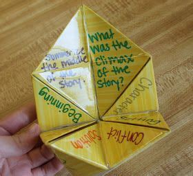 Origami Question - comprehension 1 origami comprehension in this activity