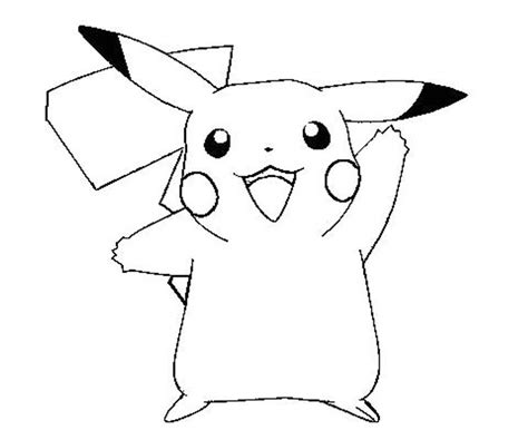 free coloring pages of and pikachu