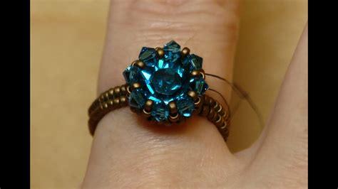 sidonias handmade jewelry swarovski solitaire beaded
