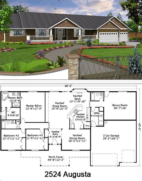 Top 10 Ranch Home Plans by Best Ranch House Plan