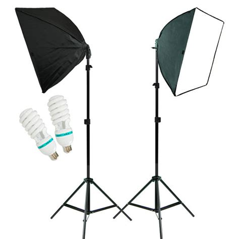 Photography Studio Lights by 2pcs Photo Studio Lighting Softbox Photography Equipment Studio Light Box Stand Ebay