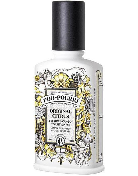bathroom odor neutralizer poo pourri original citrus toilet bathroom spray essential