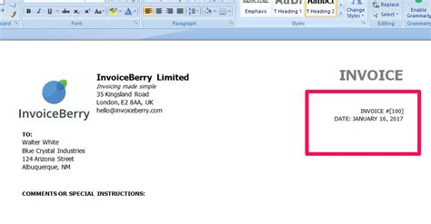 Invoice Number Letter What Is An Invoice And How Can I Make One Invoiceberry