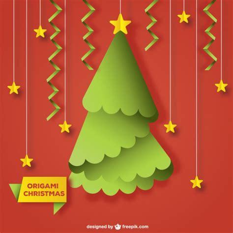 193 rbol de navidad de origami con estrellas descargar