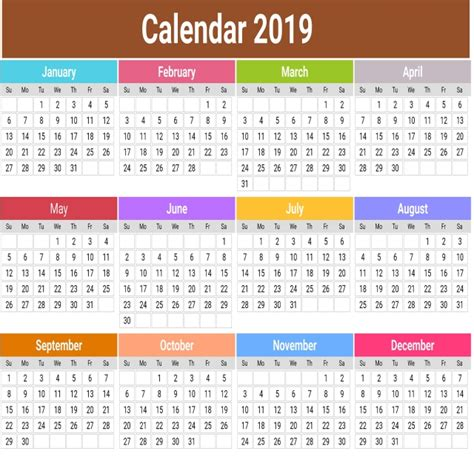 cute calendar  colorful calendar  calendar colorful png  psd file