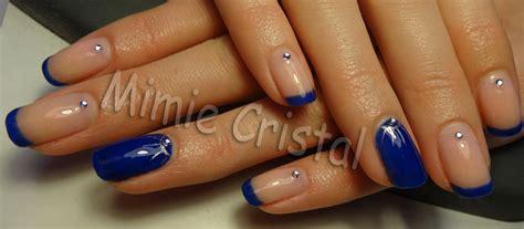 Ongle En Gel Bleu Marine by Ongles Bleu Marine Mat