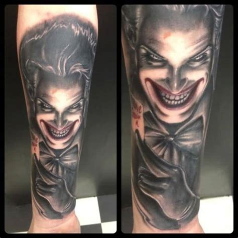 joker tattoo on arm joker tattoo ideas and joker tattoo designs page 51