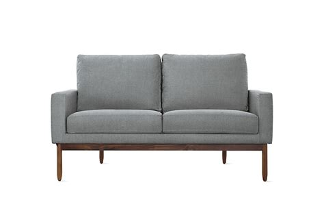 dwr sofa raleigh two seater sofa design within reach