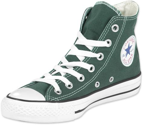 Coverse All converse all hi shoes green