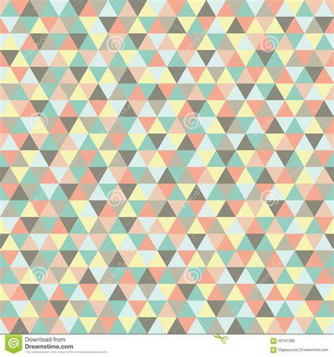 Muster Hintergrund Nahtloses Dreieck Muster Hintergrund Beschaffenheit Vektor Abbildung Bild 68761086