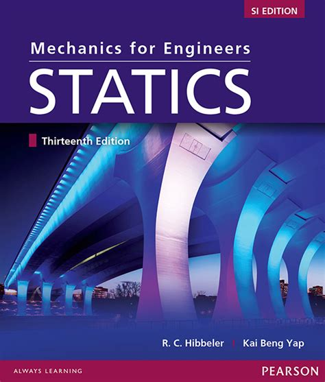 engineering mechanics statics si by c hibbeler 2009 07 28 books mechanics for engineers statics si edition 13 hibbeler