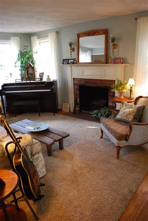 Living Room Music | living room music room with piano ivory sheers