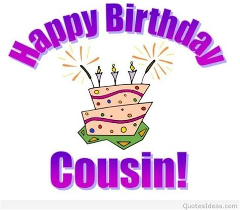 Birthday Cards For Cousin Happy Birthday Card Cousin Message