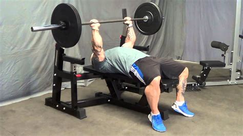 bb bench press barbarian line commercial bench press bb 9061 youtube