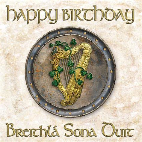Birthday Cards Ireland Happy Birthday Cards In Irish