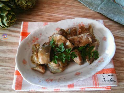 cucina semplice e gustosa insalata di carciofi leggera e gustosa cucina serafina