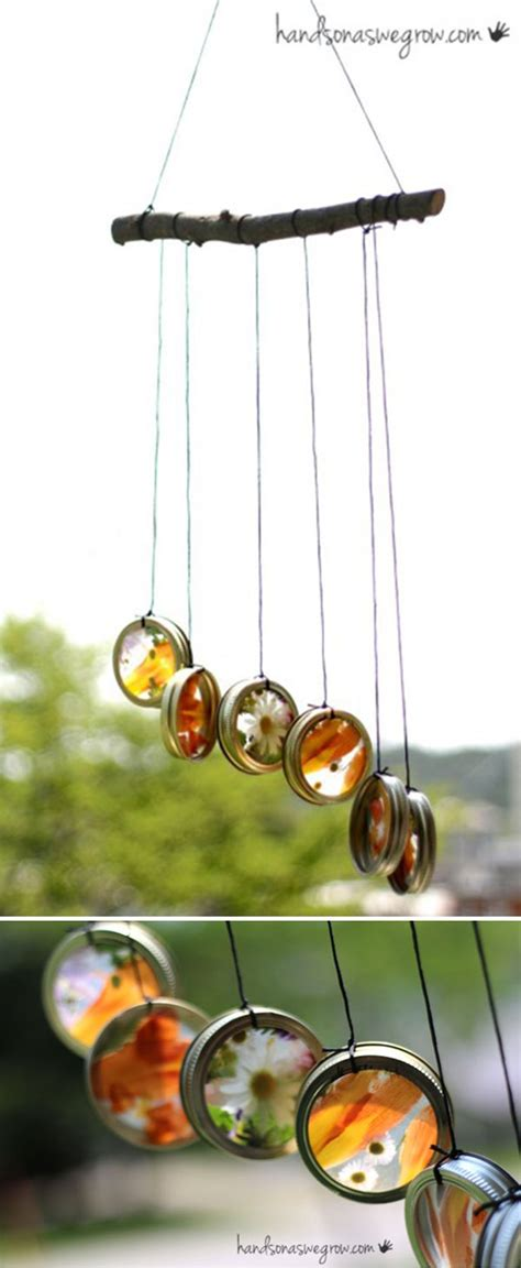 Handmade Wind Chimes - 32 diy wind chimes to hang in a beautiful home