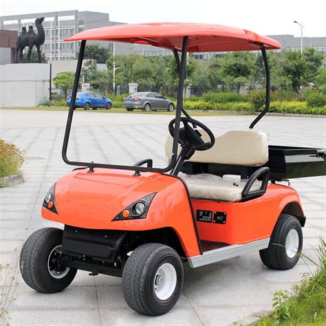 golf cart with bed electric chinese utility vehicle du g2 electric golf cart