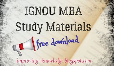 Ignou Mba Study Material Ms 01 ignou mba ms 53 production operations management