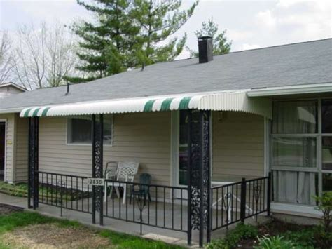 Awning For Mobile Home by Dacraft Dayton Ohio Residential Products Awnings