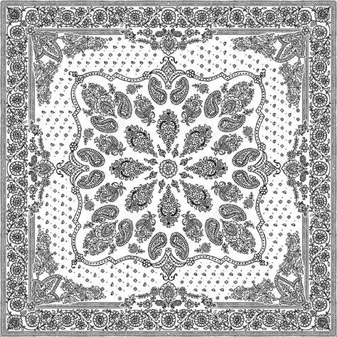 bandana pattern drawing bandana royalty free cliparts vectors and stock
