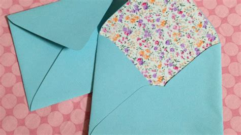 How To Make An Envelope With 8 5 X 11 Paper - how to make beautiful fabric diy lined envelopes
