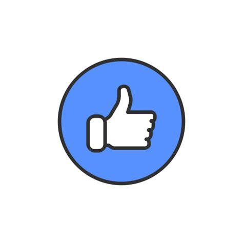 emoji like like facebook emoji like button icon