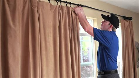 curtain cleaning service drapery cleaning with coit services youtube