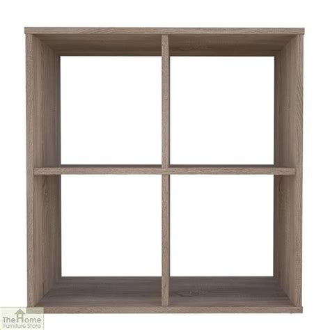 oak  cube shelving unit childrens storage furniture