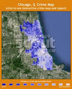 Chicago Safety Map by Chicago Crime Rates And Statistics Neighborhoodscout