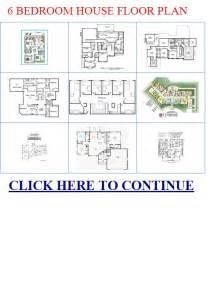 6 bedroom house floor plan 6 bedroom house floor plans 6 bedroom han floor plans trend home design and decor
