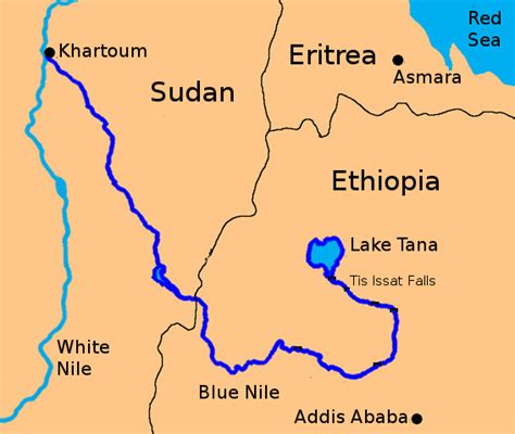 africa map nile river quarrel nile river water