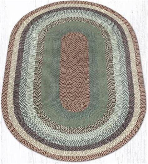 oval braided rugs 5x8 c 413 buttermilk cranberry oval braided rug 5x8