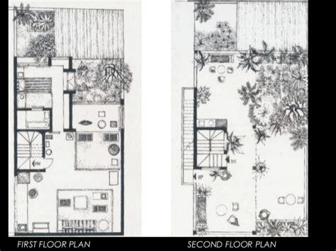 Floor Plans Bungalow works of geoffrey bawa
