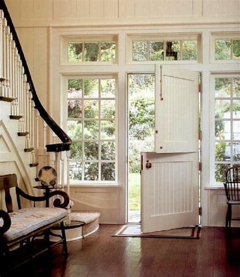 Interior Double Doors Home Depot by Elegant Entryway Remodel With Dutch Door And Flanking And