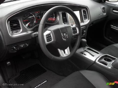 Black Charger With Interior by Black Interior 2012 Dodge Charger R T Road And Track Photo