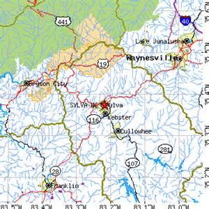 sylva carolina map sylva carolina nc population data races