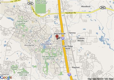 where is the woodlands texas on the map map of residence inn by marriott houston the woodlands market