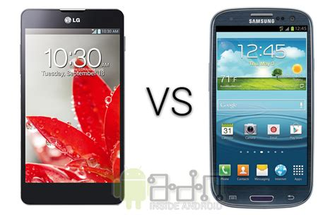g samsung s3 lg optimus g vs samsung galaxy s3 android zone