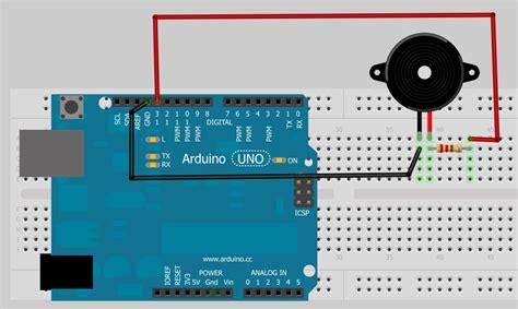 tutorial arduino buzzer buzzer arduino electronic piece