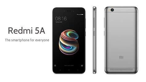 redmi 5a xiaomi redmi 5a the smartphone for everyone sale on 8th