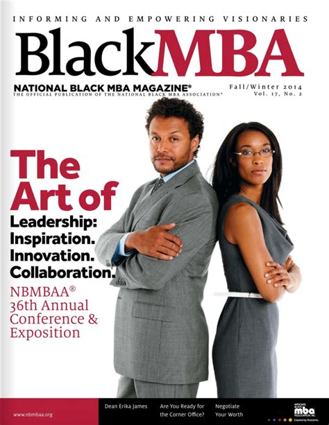 Black Mba Magazine blackmba magazine nbmbaa