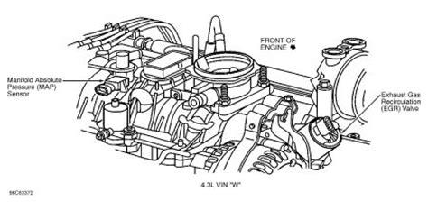 2002 Chevy Tahoe Egr Valve Engine Mechanical Problem 2002