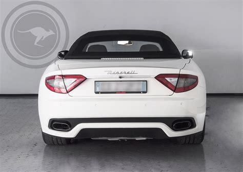 Rent Maserati by Rent Maserati Grancabrio Sport Stradale
