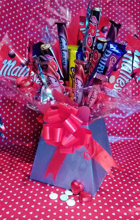 alternative valentines gifts chocolate bouquet perfect valentines gift great