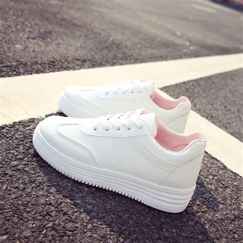 white shoes for flat thick white shoes for flat sports arder shoes