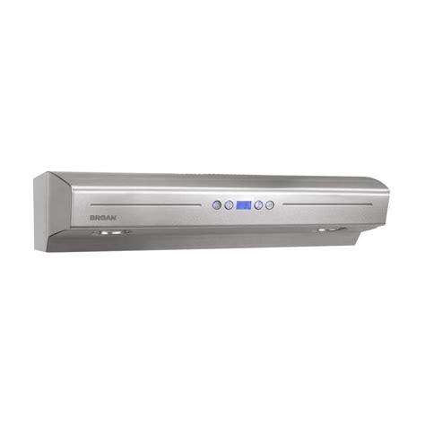 lowes under range hood shop broan undercabinet range hood stainless steel