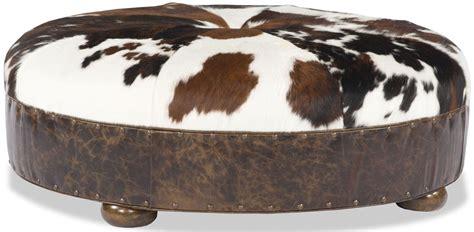 leather animal ottoman animal hide ottoman