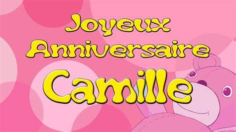 Joyeux Anniversaire Camille Bon Anniversaire Avec S Coloriage Joyeux Anniversaire TataL